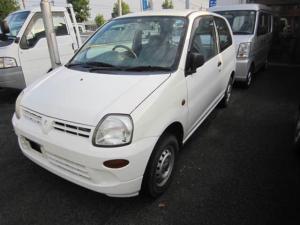 三菱 ミニカ ライラ 軽自動車 ホワイト 車検整備付 保証付 AC