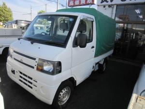 三菱 ミニキャブトラック Vタイプ 5速マニュアル 2WD エアコン パワステ 幌付