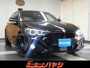 BMW 1シリーズ 118d Mスポーツ エディションシャドー クリーンディーゼル/Mスポーツ黒革シート/シートヒータ/ACC/衝突軽減/逸脱防止/コーナーソナー/HDDナビ/DVD/BT/ETC/バックカメラ/デイライト/禁煙車/グー鑑定5点の高品質!/動画有!