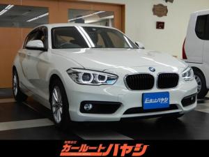 BMW 1シリーズ 118i コンフォートパッケージ/LEDオートライト/リア障害物センサー/スマートキー/HDDナビ/DVD/Bluetooth/USB/ミラ-ETC/バックカメラ/新品タイヤ4本交換済み