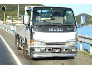 いすゞ エルフトラック  平ボディー TADANOクレーン付き 最大積載量2000kg 5MT
