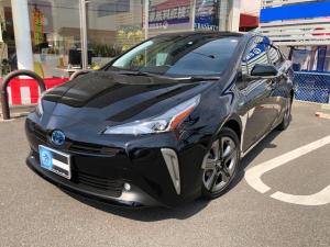トヨタ プリウス Sツーリングセレクション 9インチ純正ナビ バックカメラ ETC装着車 フルセグ Bluetooth 衝突軽減ブレーキ LEDヘッドライト ワンオーナー