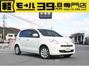 トヨタ パッソ プラスハナ 純正CD スマートキー ベンチシート オートエアコン 修復歴なし 内外装仕上 1年保証