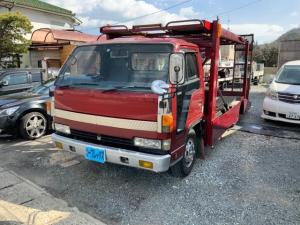 いすゞ エルフトラック 2台積み積載車 5速マニュアルミッション AC PS
