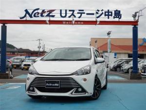 トヨタ アクア G G's TSS  LEDヘッドライト 禁煙車