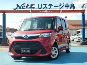 トヨタ タンク X S SDナビ SAIII ETC バックモニター 禁煙車