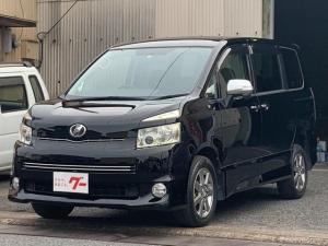 トヨタ ヴォクシー ZS 煌 4WD 両側パワースライドドア HDDナビ 地デジTV ETC 後席モニター スマートキー プッシュスタート パドルシフト