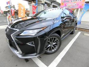 レクサス RX RX200tFスポーツ4WDターボSR黒革ナビPWバックドア
