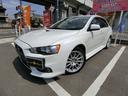 三菱/ランサー GSRエボリューションX ターボ4WD レカロ席 HDDナビ