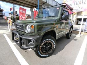 スズキ ジムニー XL 5MTターボ4WD GガードRラックラダーリフトUP