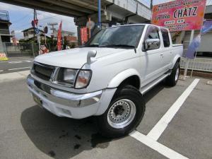 日産 ダットサントラック ロングDX AXリミテッド Wキャブ 8ナンバー 1オーナー ディーゼル 4WD サンルーフ オバフェン 16AW トノカバー キーレス