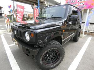 スズキ ジムニー XL 5MTターボ4WD 背面タイヤ 外AWタイヤ シートH