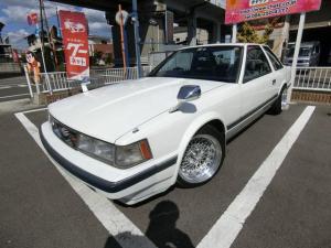 トヨタ ソアラ 2.0VR 5MT構造変更済 ターボ 鏡面加工SSR15AW 車高調 ロアアーム 外マフラー サンルーフ フェンダーミラー 外エアクリプラグ アルミ 前置IC ブローオフバルブ EGオーバーホール済 LSD