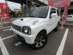 スズキ ジムニー ランドベンチャー 5MT ターボ 4WD 背面タイヤ 純正16AW 革調シートカバー シートヒーター CD ETC フル装備 ABS タイミングチェーン式