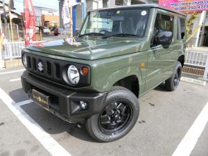 スズキ ジムニー XL 1オーナー 禁煙 届出済未使用車 5MT ターボ 4WD オプションセーフティサポート 背面タイヤ スマートキー プッシュスタート シートヒーター フル装備 ABS