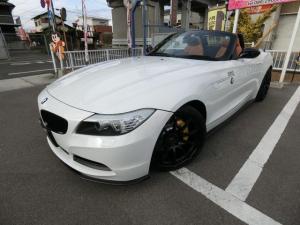 BMW Z4 sDrive23i ハイラインパッケージ 電動オープン FSエアロ 外品19AW ビルシュタイン車高調 レムスマフラー HID Mパフォーマンスブレーキ移植 茶本革 パワーシート シートヒーター HDDナビ フルセグTV スマートキー ETC