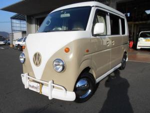 スズキ エブリイ PA 全国対応保証 レトロバス仕様 革調シートカバー ライト