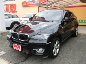 BMW X6 xDrive 35i サンルーフ 黒革 トップビューカメラ