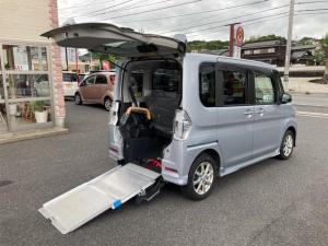 ダイハツ タント カスタムX スマートセレクションSA リヤシート付仕様 スローパー CVT スマートキー 両側電動スライドドア アルミホイール オーディオ付 4名乗り ベンチシート