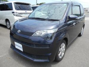 トヨタ スペイド F カロッツェリアHDDナビ・フルセグ・DVD・Bluetooth・プッシュスタート・スマートキー・スペアキー