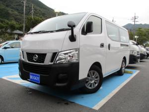 日産 NV350キャラバンバン ロングDX 最大積載量1200Kg ナビ付