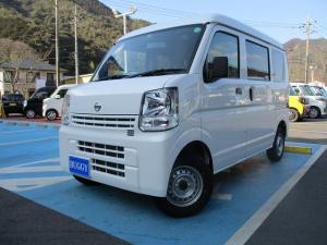 日産 NV100クリッパーバン DX 新車保証継承 走行2586Km キーレスキー エアバッグ 5AGS 2nd発進機能