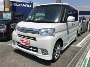 ダイハツ タント G ナビ 軽自動車 ホワイト CVT AC 電動スライドドア