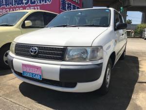 トヨタ プロボックスワゴン F AC オーディオ付 5名乗り ホワイト AT