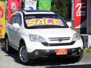 ホンダ CR-V ZX アルカンターラスタイル 4WD サンルーフ パワーシート 社外フルセグナビ 18インチアルミ 全車保証付き