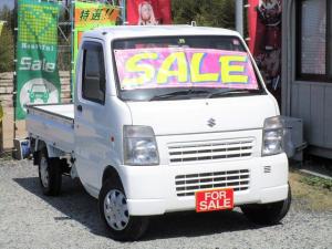 スズキ キャリイトラック KCエアコン・パワステ 4WD 半年保証付き