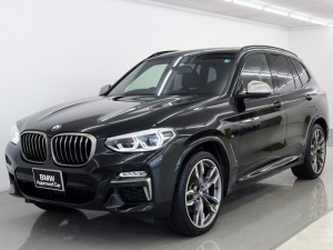 BMW X3 M40d黒革 アンビエントライト HUD ACC 21AW