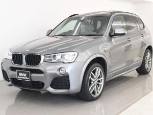BMW X3 x20dMスポ 後期 SR 本革 19AW Fタイヤ2本新品