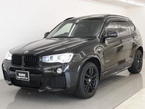 BMW X3 x20d Mスポ 後期 SR 本革 HUD OP19AW