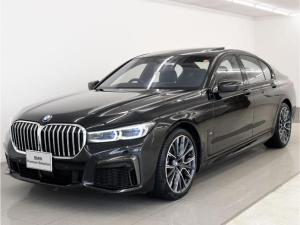 BMW 7シリーズ 740iMスポ後期 SR 黒革 レーザーライト 20AW