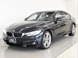 BMW 4シリーズ 435iグランクーペ Mスポーツ 左H 本革 ヘッドアップディスプレイ アクティブクルーズコントロール アダプティブLEDヘッドライト ドライビングアシスト オートトランク フルセグ フロントシートヒーター 純正19AW