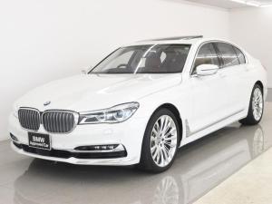 BMW 7シリーズ 750i 電動サンルーフ 本革 デザインピュアエクセレンスパッケージ デザインピュアエクステリア&インテリア ヘッドアップディスプレイ BMWレーザーライト BMWディスプレイキー 20AW