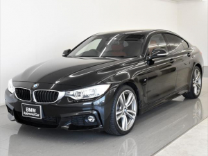 BMW 4シリーズ 420iグランクーペ Mスポーツ 赤革 アダプティブLEDヘッドライト アクティブクルーズコントロール ドライビングアシスト シートヒーター オートトランク 純正19インチアロイホイール