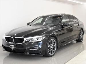 BMW 5シリーズ 523d Mスポーツ ハイラインパッケージ サンルーフ 本革 ハイラインパッケージ コンフォートパッケージ ソフトクローズ コンフォートシート アクティブクルーズコントロール マッサージシート F/Rシートヒーター