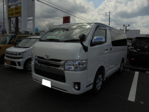 トヨタ ハイエースバン SDナビ バックカメラ ドライブレコーダー DVD 禁煙車