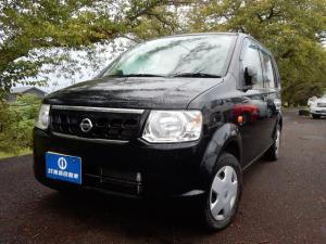 日産 オッティ S 5速マニアル 走行少な目 人気のブラック ワンオ-ナ-