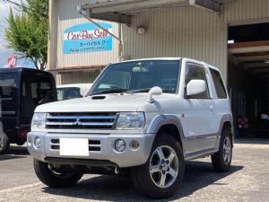 三菱 パジェロミニ アクティブフィールドエディション 4WD 15インチAW ナビ ドライブレコーダー