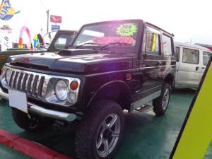 スズキ ジムニー ワイルドウインド 4WD AT エアコン 背面タイヤハードカバー 社外AW