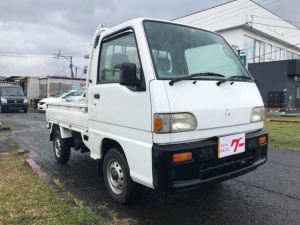 スバル サンバートラック スペシャル 5速マニュアル CD MD エアコン 4WD