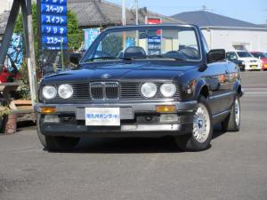 BMW 3シリーズ 320iカブリオーレ ディーラー車 左ハンドル 純正アルミホイール 幌張替え済み 現状販売車
