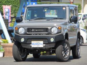 スズキ ジムニー XL 車高1.5インチUP アピオフロントバンパー HKSマフラー LEDヘッドライト XC専用純正アルミホイール メモリーナビ ブルートゥース