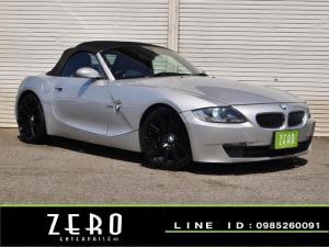 BMW Z4 ロードスター2.5i 後期モデル 赤本革シート 電動オープン