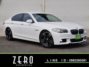 BMW 5シリーズ 528i黒本革Mスポ仕様 LEDフォグHDDナビ地デジ