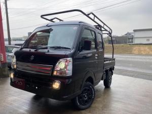 スズキ スーパーキャリイ X 社外14inアルミ MTタイヤ 2inリフトアップ ハードカーゴ 4WD