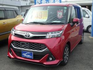 トヨタ タンク カスタムG-T ナビ バックカメラ ETC 両側電動スライドドア オートライト シートヒーター