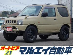 スズキ ジムニー XC 5速MT・4WD・ターボ・社外CD・エアコン・パワステ・集中ドアロック・トランスファーレバー・社外マフラー・フォグライト・16インチAW